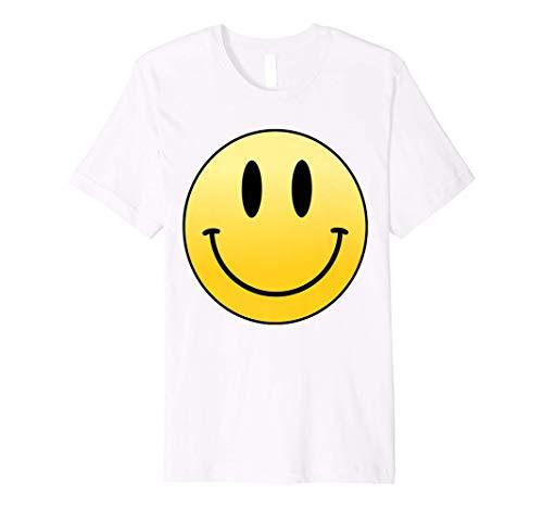 Mr. Happy Smiley Smile Face Funny Humor Cute Positive Laugh Premium T-Shirt