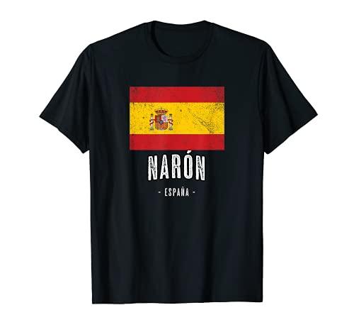 Narón España | Souvenir Linda Ciudad - Bandera - Camiseta