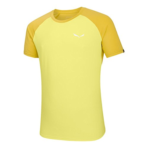 Salewa agner Climb Dry M S/S Tee, T-Shirt pour Homme 52/XL Limelight/5730