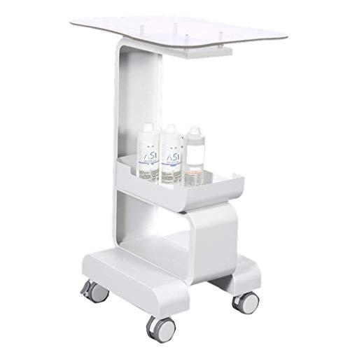 KANJJ-YU Soporte de almacenamiento móvil para carrito de herramientas de almacenamiento para salón de belleza