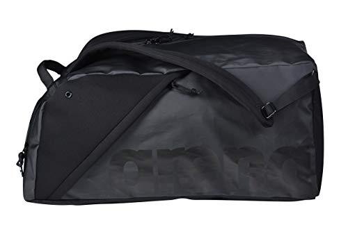 ARENA Unisex – Erwachsene Sporttasche Duffle Fast Hybrid Schwarz 55L, Black, TU