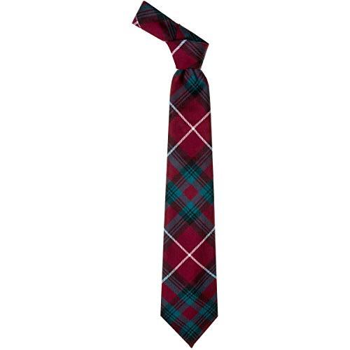 Lochcarron of Scotland Stuart of Bute Cravate Motif tartan moderne