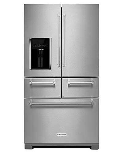 Kitchen Aid KRMF706ESS KRMF706ESS 25.8 Cu. Ft. Stainless Platinum Interior French Door Refrigerator