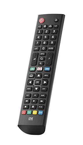 One for All LG TV Fernbedienung - Funktioniert mit Allen LG TV/Smart TV - die ideale TV-Ersatzfernbedienung - URC4911