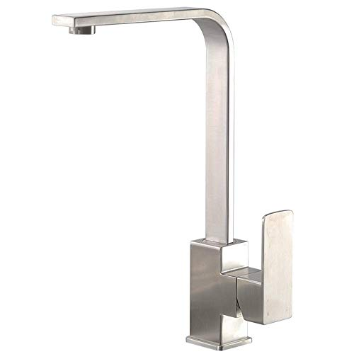 Wastafel waterkraan messing waterkraan wastafel waterkraan muur 360 graden draaibaar waterkraan keukenkraan badkamer waterkraan metallic metallic