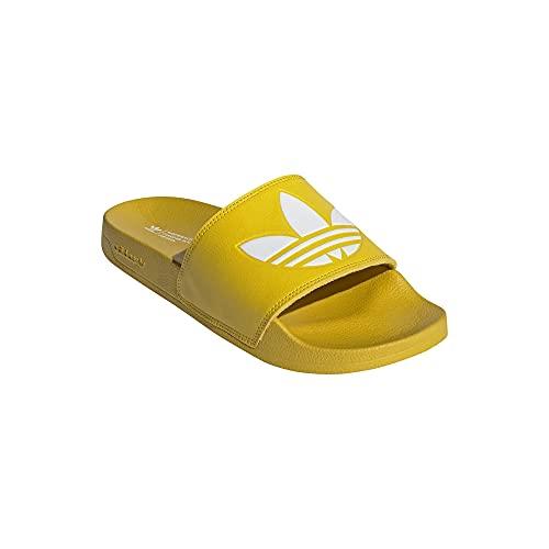 adidas Chanclas Lite Adilette, color Amarillo, talla 47 EU