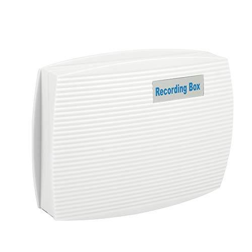 Demeras Grabadora de teléfono Teléfono USB de 2 Canales Grabador de línea Fija Registrador de teléfono Activado por Voz Monitor Copia de Seguridad automática