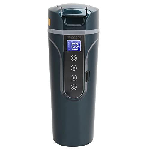 Taza calefactora eléctrica 450 ml 270 ° Diseño de tapa abatible gran...