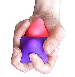 cheap Hand Massage Exercise Ball – Deep Tissue Trigger Point Self Massage Rehabilitation Ball Reflexology…