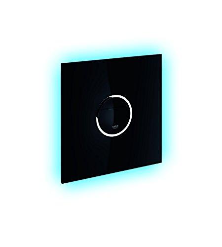 GROHE Ondus Digitecture Light | WC- Betätigungsplatte für Rapid SL | mit SoftTouch , Samt-Schwarz | 38915KS0