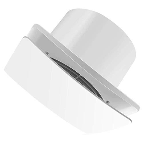 Ventana de montaje de pared de 6 pulgadas Ventilador de escape silencioso Extractor de aire fuerte Ventilación silenciosa de flujo de aire para ventilación de baño Conducto Ventana Vidrio Crecimiento