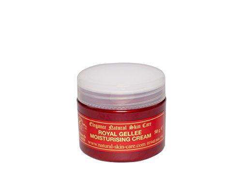 Crème Hydratante Gelée Royale 50g. Fabriqué par Elegance Natural Skin Care en Grande-Bretagne
