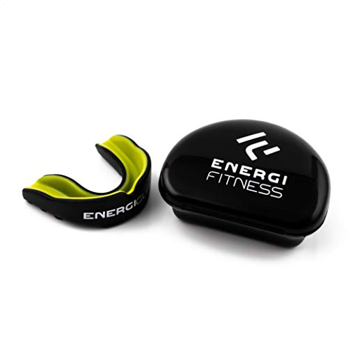Energi Fitness Mouth Guard/Gum Shield - for Boxing, MMA, Rugby, Judo,...