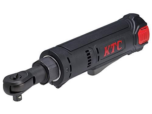京都機械工具(KTC) 9.5SQ エンジンルーム 外装外し向け 最大トルク34Nm 7.2V コンパクトタイプ コードレスラチェットレンチセット 全長253mm 軽量750g JTRE310
