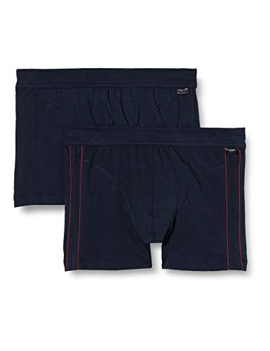 Schiesser Herren Shorts (2er Pack) Unterwäsche, Sortiert 1, XXL