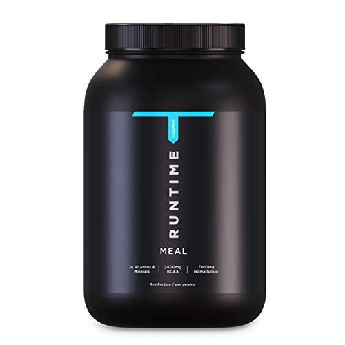Kurzes MHD - Runtime Meal - 15 Mahlzeiten | vollwertiger Mahlzeitersatz für langanhaltende Sättigung, Energie, Konzentration und Leistungsfähigkeit, mit Vitaminen und Nährstoffen (Coconut)