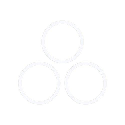 Meilanty Coin 33mm 3 Gummiring Silikon Ring Für 33mm Coinfassung Münzfassungen Ketten
