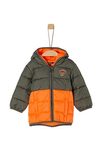 s.Oliver Junior Baby-Jungen 405.12.008.16.150.2054018 Steppjacke, Khaki, 68