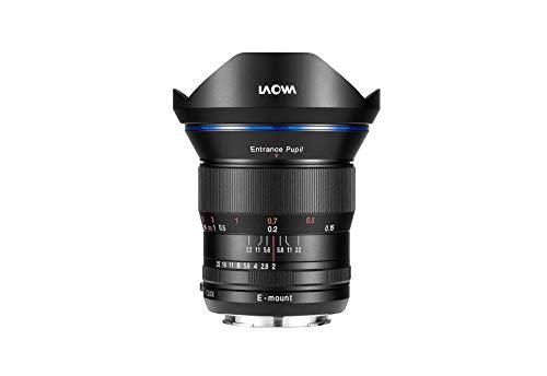 Laowa 15mm f/2 FE Zero-D SLR ultrabrede lens, zwart - SLR camera lens en filter (SLR, 12/9, ultrabrede lens, 0,15m, 1,5 cm, volledig frame)