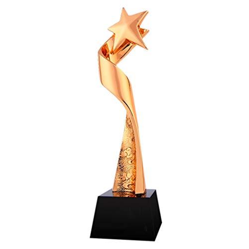 Trofei, medaglie e premi Discorso Contest Trophy Football Championship Trophy Scuola Sport Regalo di Compleanno di Festa del Salone della casa Decorazione di Materiali in Resina