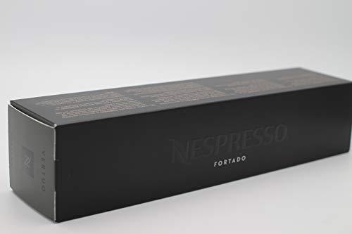 New original Nespresso Vertuo line FORTADO flavor coffee 5 sleeve 10 capsules