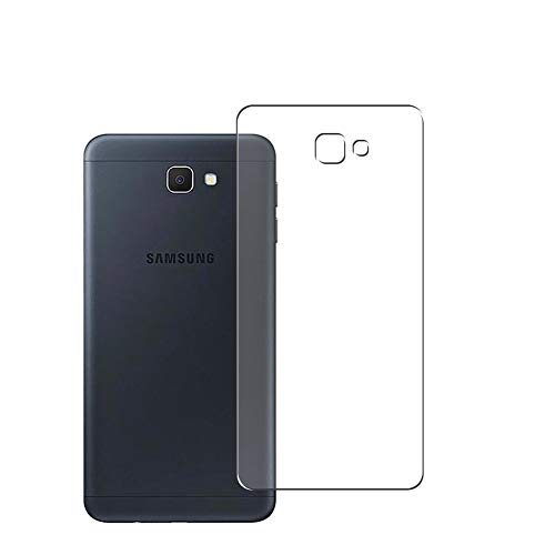 Vaxson 2 Stück Rückseite Schutzfolie, kompatibel mit Samsung Galaxy On7 Prime, Backcover Skin TPU Folie [nicht Panzerglas/nicht Front Bildschirmschutzfolie]