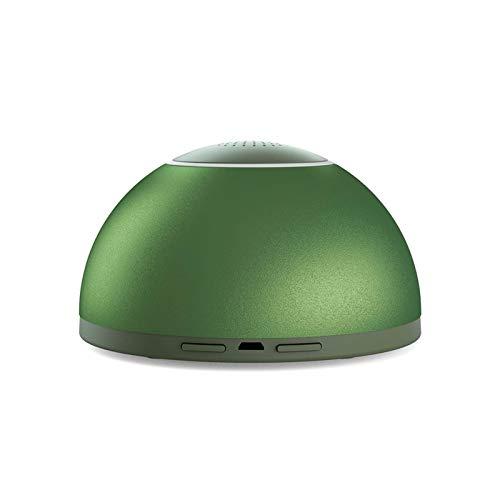 Bdesign Gabinete portátil Armario para el hogar Purificador de Aire Purificador de Aire Ventilador de Escape Purificador de ozono USB Cargando Moderna Aleación de Aluminio Simple para Auto
