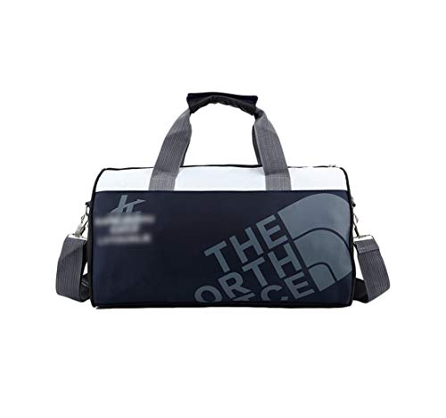 Janexi Borsa da Palestra Nylon Impermeabile Borsa Sportiva Uomo Borsone da Viaggio Donna Gym Borsa a Mano Leggero Taekwondo Messenger Bag