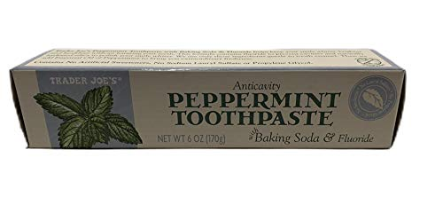 Trader Joe's Peppermint Toothpaste with Baking Soda & Fluoride