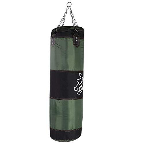 Zetiling Saco de Boxeo, Soporte de Pared Rellenado Entrenamiento de Boxeo MMA Heavy Punch Guantes Cadena Muay Thai Kickboxing - Sin Relleno (#6)