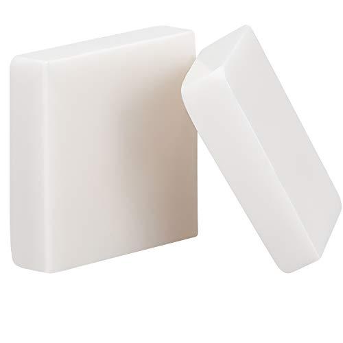 2 Packs Skateboard Wax Smooth Skateboard Wax Accessories for Increasing Speed of Skateboard (White)