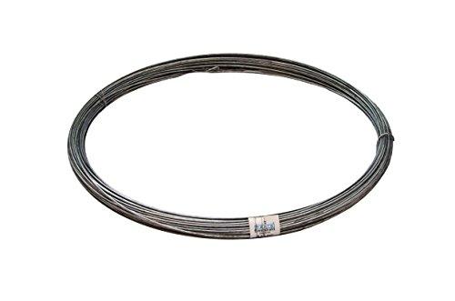 Eisendraht Ø 3,1mm verzinkt, 1 Ring = 5kg - ca. 85 Meter
