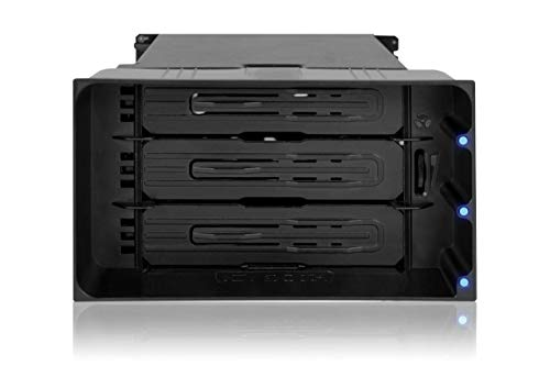 ICY DOCK flexiDOCK MB830SP-B - Wechselrahmen/Dock trägerlos für 3X 3,5 Zoll SATA/SAS Festplatte
