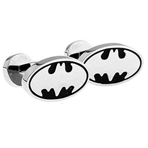 LA BELLE MANCHETTE Batman Manschettenknöpfe in Silber