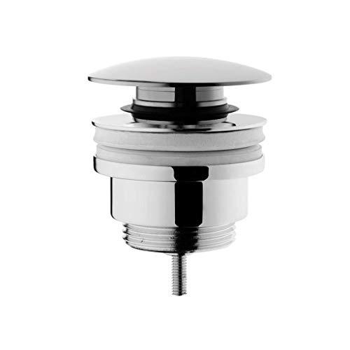 VitrA Push-Open Ablaufgarnitur, Chrom - Waschbecken & Waschtisch Modernes Pop-Up