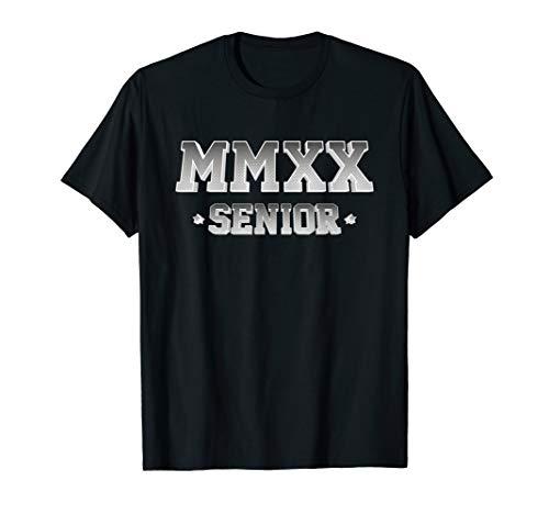 Senior MMXX Shirt College University Class Of 2020 Graduate T-Shirt