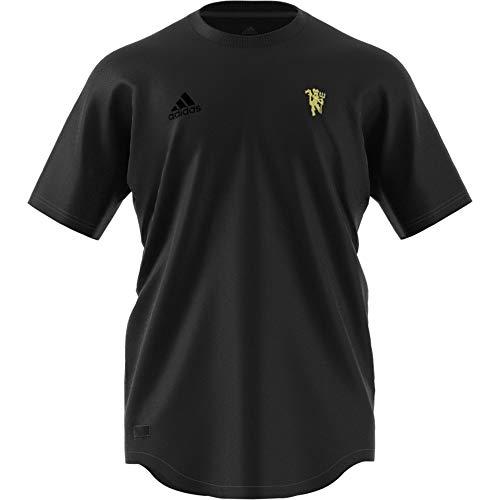 adidas Herren Seasonal Specials Manchester United T-Shirt, Black, M