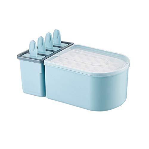 CWT Ice Box Zelfgemaakte ijsblokjesvorm snelvriezer om ijsblokjes artefact bevroren met deksel ijskast creatieve huishoudelijke kleine koelkast ijskast Keuken Gereedschap