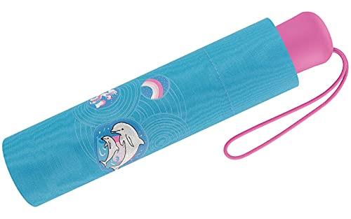 Scout Kinder-Taschenschirm reflektierend - Dolphins