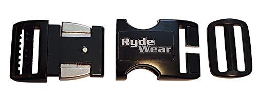 Rydewear Beanie Half Shell Helmet Black Metal Strongest Motorcycle Helmet Quick Release Helmets Chin Strap Buckle