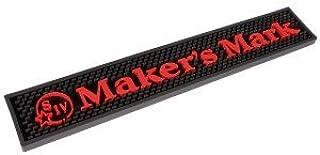 Maker's Mark Bar Rail Drip Mat