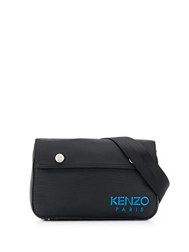 Kenzo Luxury Fashion Herren FA55SA803F4999 Schwarz Nylon Gürteltasche | Frühling Sommer 20