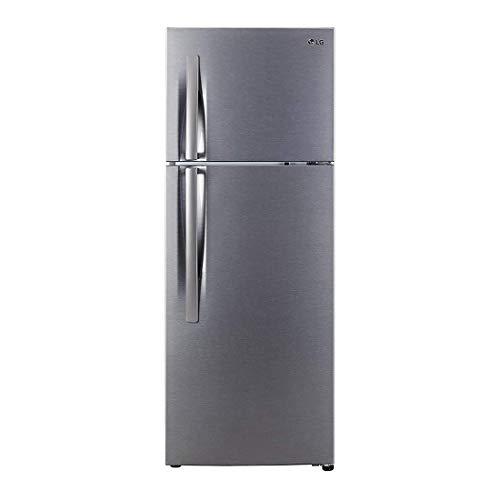 LG 284 L 2 Star Inverter Frost-Free Doube-Door Refrigerator (GL-C302KDSY, Dazzle Steel)