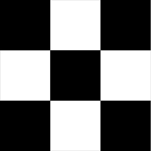 Lot de 50 autocollants carrés pour carrelage de salle de bain/cuisine Blanc et 25 noirs 100 mm x 100 mm