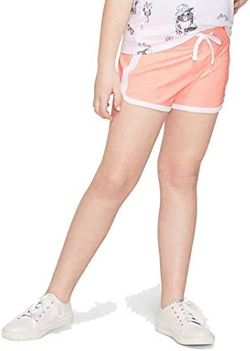 Justice Active Girls/' Size 12 Black Dolphin Shorts.