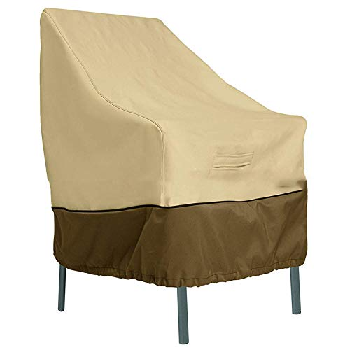 SlimpleStudio Patio Furniture Cover Waterproof,Waterproof outdoor garden patio furniture dust cover patio balcony high back chair cover