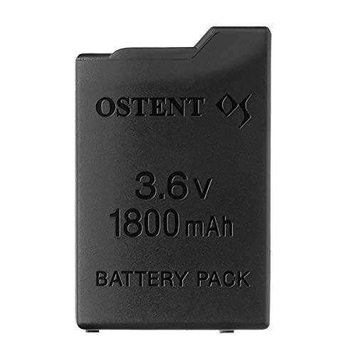 OSTENT Remplacement de la batterie rechargeable au lithium-ion de 1800mAh 3.6V pour la console Sony PSP 1000 PSP-110