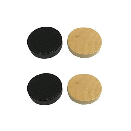 heacker 1.9cm Diámetro Damas Backgammon Piezas Accesorios a