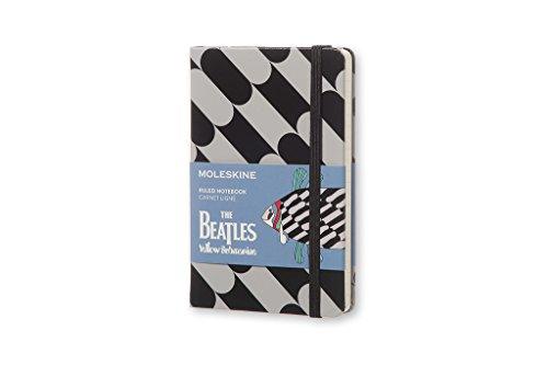 Moleskine The Beatles Pez - Cuaderno, color negro