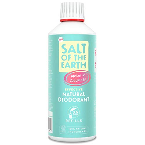 Salt of the Earth Recharge de déodorant naturel Melon et concombre 500 ml
